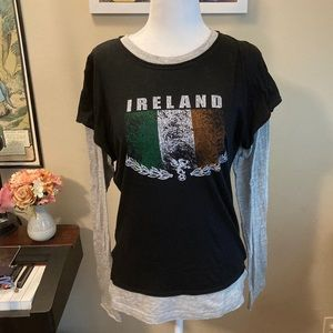 Ireland Long Sleeve Tee